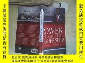 二手書博民逛書店the罕見POWER OF CHARACTER IN LEADERSHIP   領導中的人格力量(B0)Y26