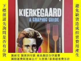 二手書博民逛書店Introducing罕見Kierkegaard: A Grap