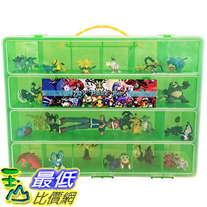 [美國直購] 神奇寶貝 精靈寶可夢周邊 Pokemon TM Compatible Organizer - My Poke Bin Storage Box (Lime/Green)