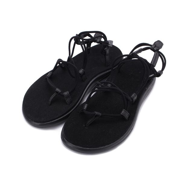 TEVA VOYA INFINITY STRIPE 羅馬織帶涼鞋 黑 TV1019622BLK 女鞋