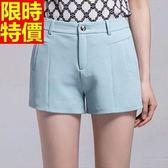 西裝短褲素雅超值-率性非凡精緻女褲子8色66ai16【巴黎精品】