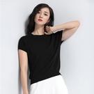 現貨 簡約時尚短袖針織衫針織上衣【59-14-83011-19】ibella 艾貝拉