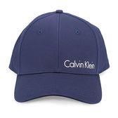 CalvinKlein CK字母純棉棒球帽(深藍色)103152-1