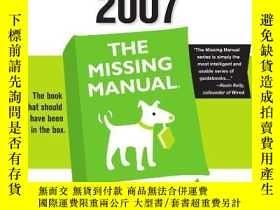 二手書博民逛書店Access罕見2007: The Missing Manual-Access 2007:丟失的手冊Y4434