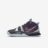 Nike Kyrie 7 (gs) [CT4080-008] 大童鞋 籃球鞋 運動 靈活 包覆 舒適 貼合 避震 黑 銀