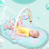 床鈴 MKK腳踏鋼琴嬰兒健身架器新生兒寶寶音樂益智玩具0-1歲3-6-12個月