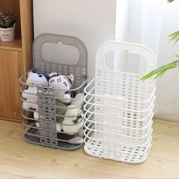 可折疊掛式髒衣籃 浴室洗衣籃 收納籃 儲物籃【AF07293】 99愛買小舖