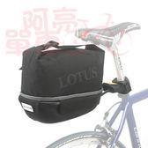 *阿亮單車*LOTUS 時尚型旅空蛋包(SHE-09),容量加大,休閒騎乘更便利,黑色《C84-168》