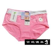 【吉妮儂來】6件組921舒適少女寬織帶平口棉褲(尺寸free/隨機取色)