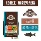 SUPER SOURCE紐健士[鮭魚+蔬果無穀貓糧,6磅]產地:美國