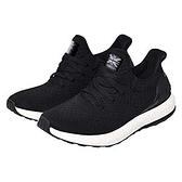 KANGOL 女款黑色針織運動慢跑鞋-NO.6022255320
