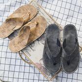 防滑男士拖鞋潮牌夏季時尚外穿韓潮人海邊沙灘鞋涼拖越南人字拖男