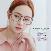 時尚迷雙面女神復古多角形大框平光眼鏡【G0568】璀璨之星☆