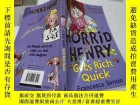 二手書博民逛書店horrid罕見henry gets rich quick可怕的亨利很快就發財了Y212829 不祥 不祥