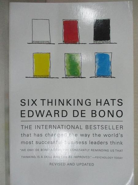 【書寶二手書T1/財經企管_H17】Six Thinking Hats_De Bono, Edward