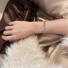 手鏈 高級感鋯石手鏈女ins潮小眾設計閨蜜姐妹情侶手飾網紅氣質手環【快速出貨八折鉅惠】