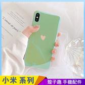 綠色愛心 小米9T 小米9 小米8 Lite 亮面手機殼 藍光殼 卡通素殼 小米A1 A2 保護殼保護套 防摔軟殼