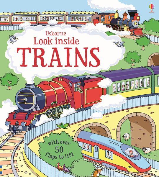 【科學操作書】LOOK INSIDE TRAINS  / 硬頁精裝