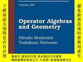 二手書博民逛書店Operator罕見Algebras And Geometry-算子代數與幾何Y436638 Hitoshi