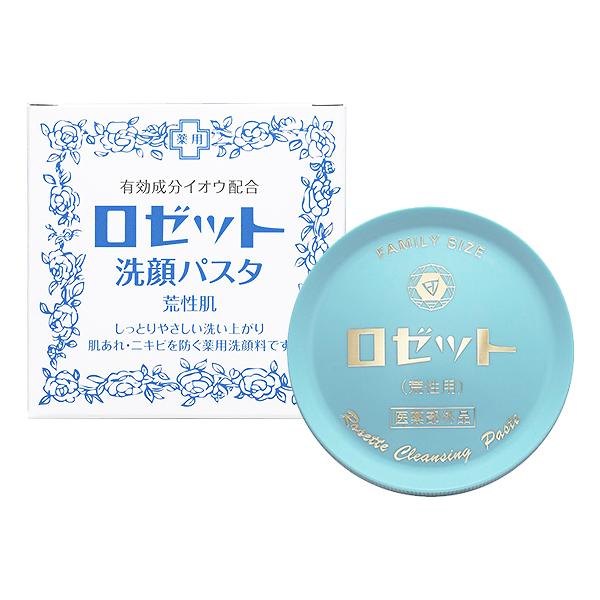 日本 ROSETTE 溫泉柔嫩調理洗顏膏(霜)90g【小三美日】
