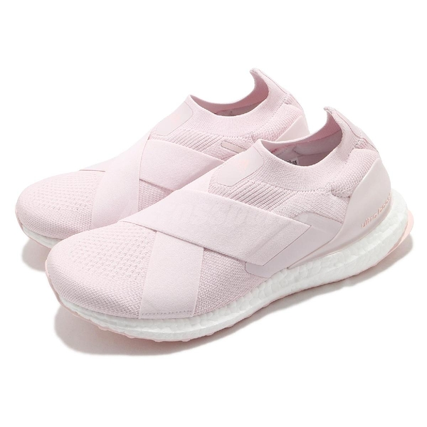 adidas 休閒鞋 Ultraboost Slip On DNA 粉紅 愛迪達 Boost 女鞋 【ACS】 GZ9847