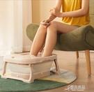 泡腳桶 可折疊泡腳桶家用按摩洗腳盆全自動...