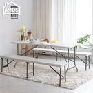 露營桌 會議桌 摺疊桌 180*76手提折疊式戶外露營餐桌/會議桌(不含椅) Amos【DCN012】