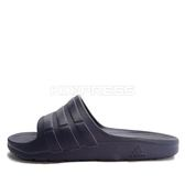 Adidas Duramo Slide [BB0498] 男女 運動 涼鞋 拖鞋 休閒 舒適 輕量 深藍 愛迪達