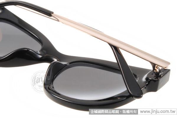 EJING 太陽眼鏡 CLASSIC BKG (黑-亮金) 江南STYLE配戴款墨鏡 # 金橘眼鏡