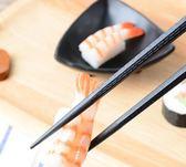 筷子韓國家庭餐具日本料理壽司尖筷子10雙