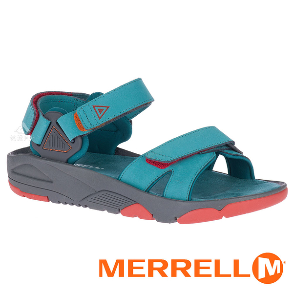 【MERRELL 美國】BELIZE CONVERT 女織帶涼鞋『土耳其藍』000806 功能鞋.多功能鞋.休閒鞋.健行鞋