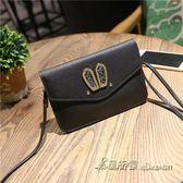 韓版新款兔耳朵手機包可愛零錢大屏手機創意迷你包單肩女斜背包潮【米蘭街頭】