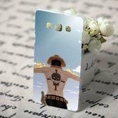 [機殼喵喵] 三星 Samsung Galaxy E7 SM-E700 手機殼 客製化 外殼 全彩工藝 SZ132  火拳艾斯