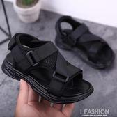 男童涼鞋2019夏季新款韓版小童中童軟底小學生兒童男孩沙灘鞋-Ifashion