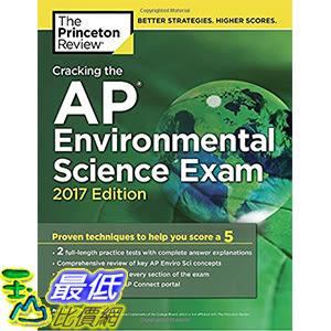 [美國直購] 美國暢銷書 Cracking the AP Environmental Science Exam, 2017 Edition: Proven Techniques to Help You Score a 5
