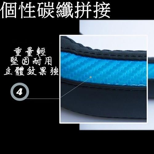 真皮碳纖 圓型方向盤套 保護套 VW BENZ BMW TOYOTA FORD 三菱NISSAN 沂軒精品 A0343