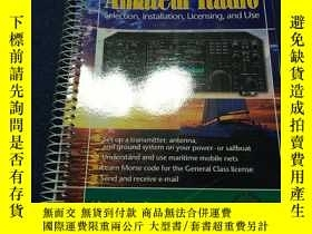 二手書博民逛書店Marine罕見Amateur Radio Selection, Installation, Licensing,