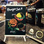 迷你木質支架立式小黑板餐廳店鋪吧台收銀菜單價目牌桌面廣告牌