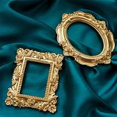 【BlueCat】歐式金色復古相框 拍照道具