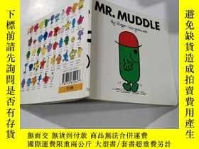 二手書博民逛書店mr.muddle:罕見糊塗先生23Y212829