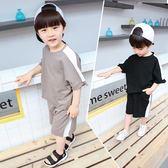 童裝男童夏裝套裝兒童短袖寶寶0-3歲潮裝