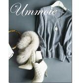 V領毛衣-高貴優雅純色百搭保暖防寒流行女長袖羊毛衫5色72n6【巴黎精品】