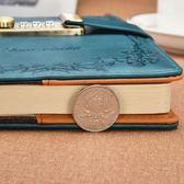 復古密碼本帶鎖日記本加厚歐式印花筆記本學生記事本商務手賬本子 童趣潮品