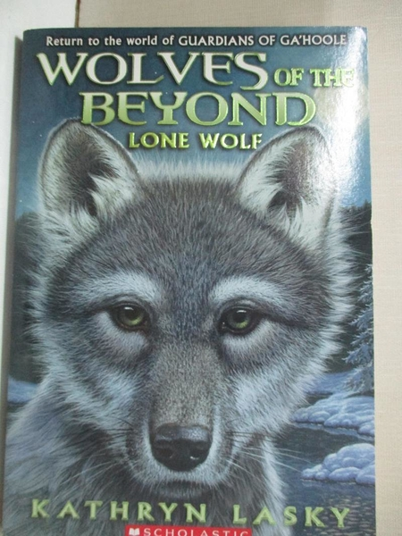 【書寶二手書T6/原文小說_HH1】Lone Wolf_Lasky, Kathryn