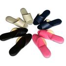 (e鞋院)日式可水洗氣墊(厚底)舒適室內皮拖鞋-6雙