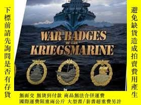二手書博民逛書店War罕見Badges Of The KriegsmarineY255562 Gordon Williamso