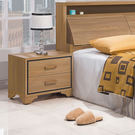 床頭櫃【時尚屋】[UZ6]順益淺胡桃1.8尺床頭櫃UZ6-45-5免運費/免組裝/櫥櫃