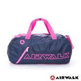 AIRWALK 小型旅行袋隨身包 -桃紅 A615300542