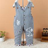 818好康 嬰幼兒純棉寶寶開襠褲0-1-2歲褲雙層童裝