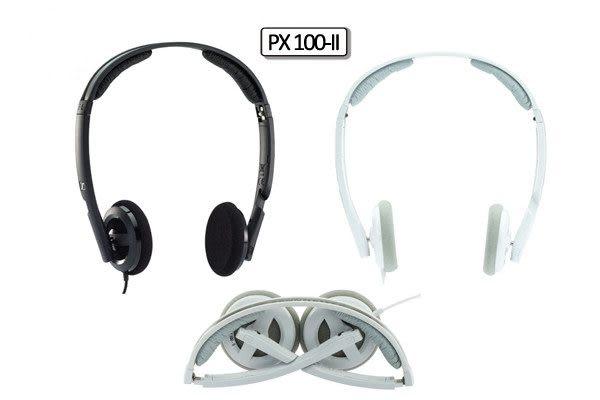 經典數位~德國 SENNHEISER~PX 100-II 耳罩式耳機 公司貨兩年保固~送原廠收納皮套